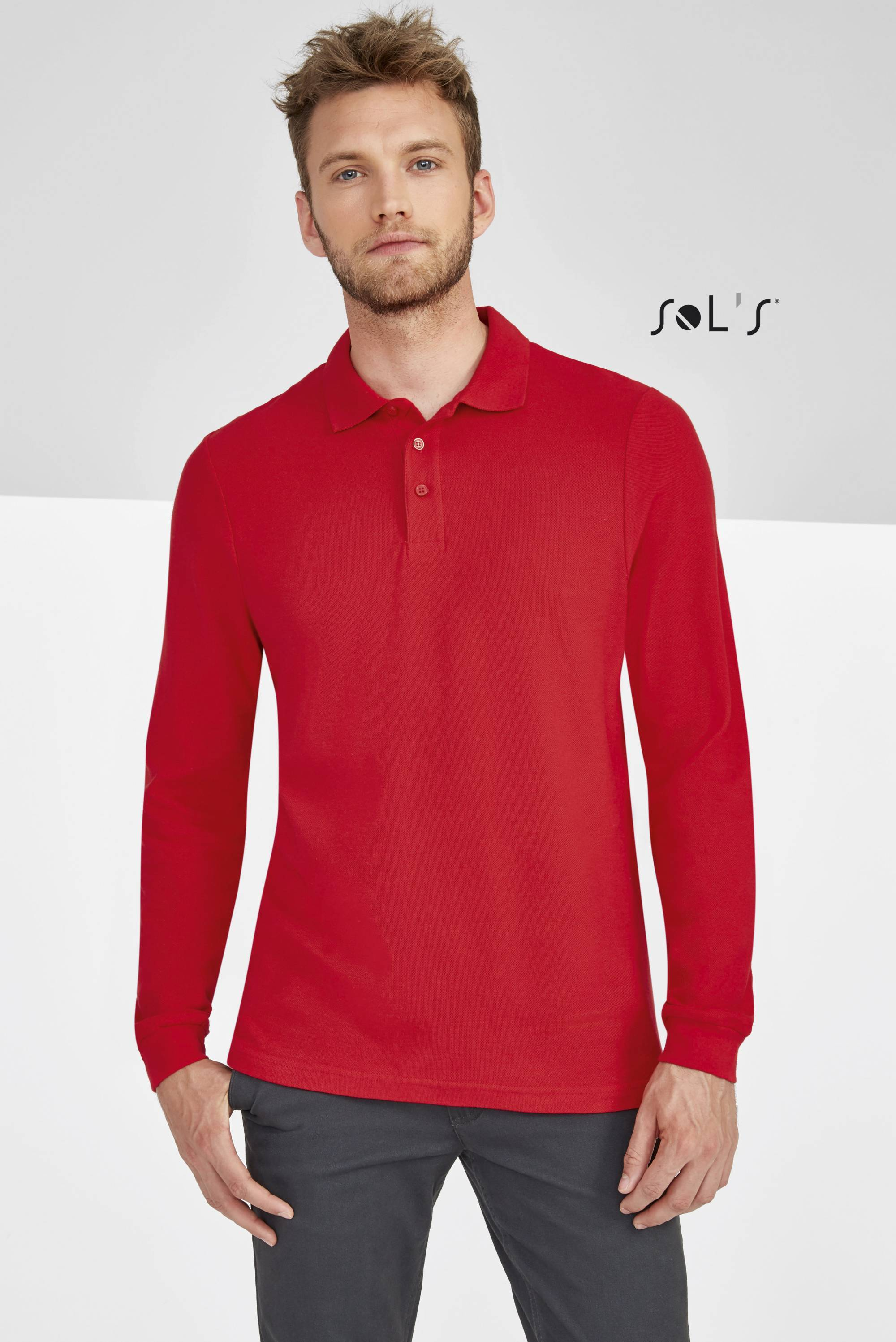 Longsleeve Polo Winter II