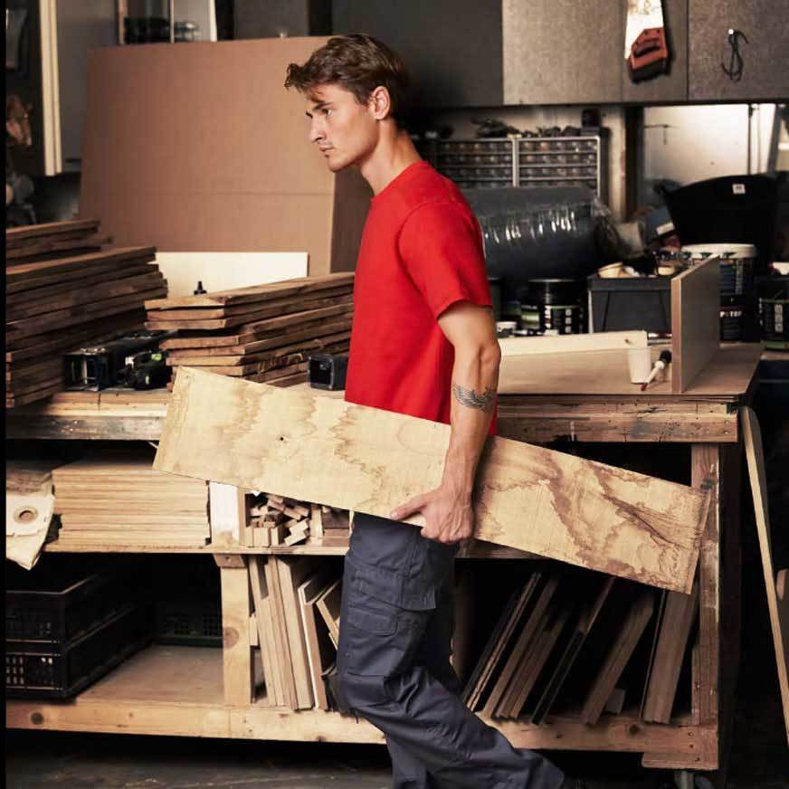 robuste Arbeitsshirts