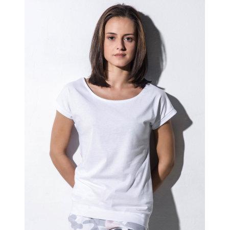 Lisa - Womens Batwing T-Shirt von Nakedshirt (Artnum: 130.85