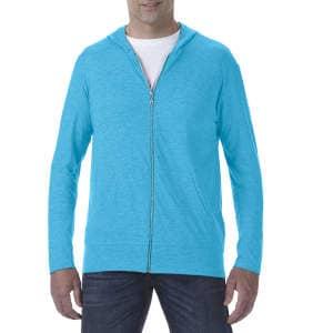 Tri-Blend Full-Zip Hooded Jacket