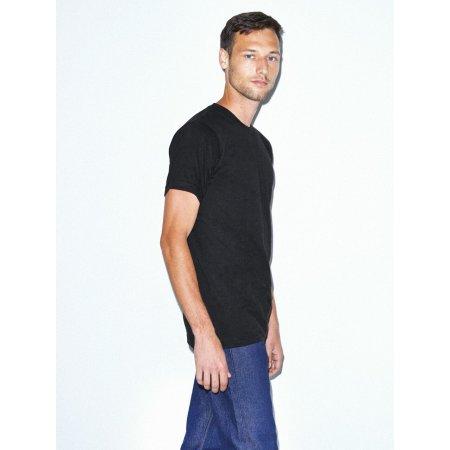 Unisex Fine Jersey T-Shirt von American Apparel (Artnum: AM2001