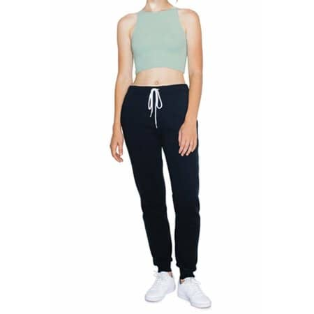 Women`s Sleeveless Crop Top von American Apparel (Artnum: AM8369