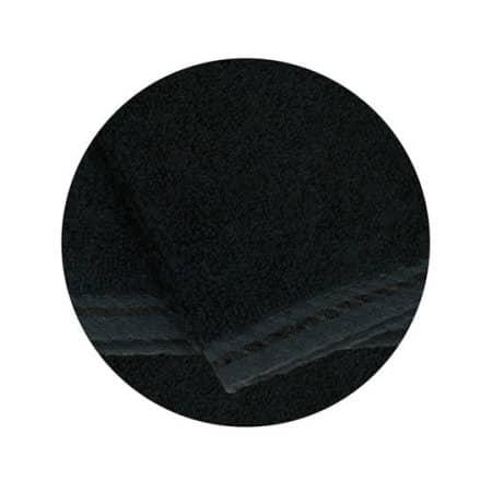 Facetowel in Black von A&R (Artnum: AR032