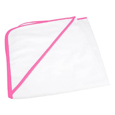 Babiezz ALL-Over Sublimation Hooded Towel von A&R (Artnum: AR892