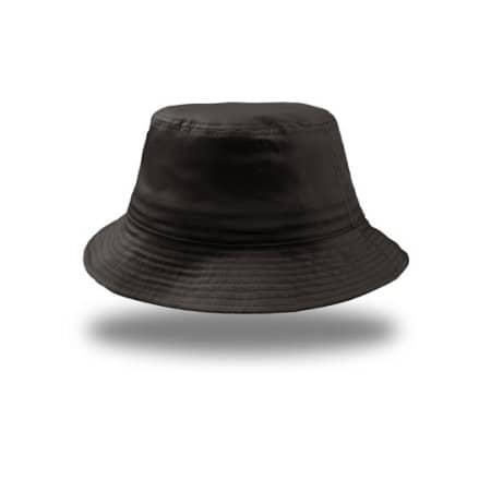 Bucket Cotton Hat in Black von Atlantis (Artnum: AT314