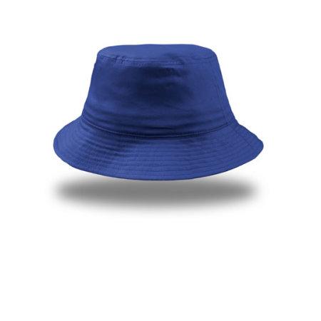 Bucket Cotton Hat in Royal von Atlantis (Artnum: AT314