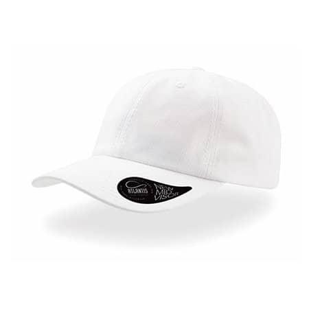 Dad Hat - Baseball Cap in White von Atlantis (Artnum: AT409