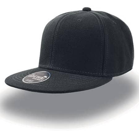 Snap Back Cap in Black von Atlantis (Artnum: AT603