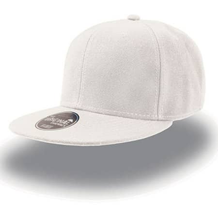 Snap Back Cap in White von Atlantis (Artnum: AT603