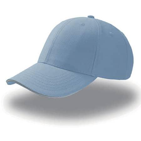 Sport Sandwich Cap in Light Blue|White von Atlantis (Artnum: AT612