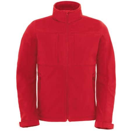Hooded Softshell / Men in Red von B&C (Artnum: BCJM950