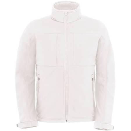 Hooded Softshell / Men in White von B&C (Artnum: BCJM950