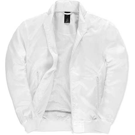 Jacket Trooper /Men in White|White von B&C (Artnum: BCJM963