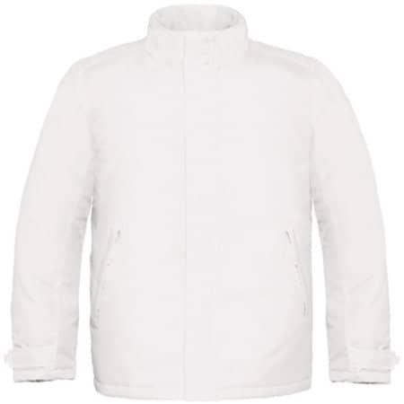 Jacket Real+ / Men in White von B&C (Artnum: BCJM970