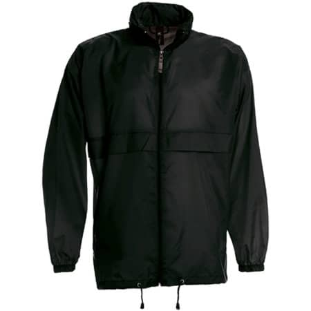 Jacket Sirocco /Unisex in Black von B&C (Artnum: BCJU800