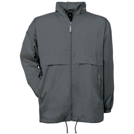 Jacket Air / Unisex in Dark Grey (Solid) von B&C (Artnum: BCJU801