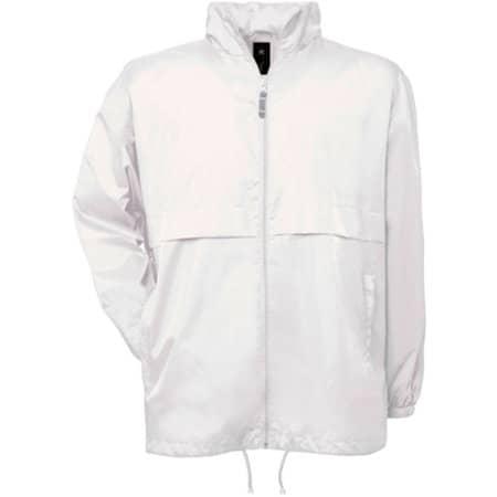 Jacket Air / Unisex in White von B&C (Artnum: BCJU801