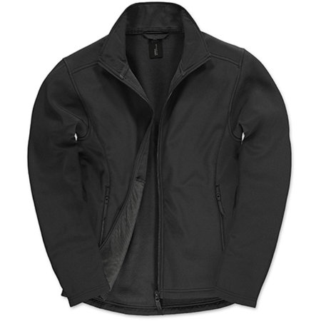 Jacket Softshell ID701 /Men in Black|Black von B&C (Artnum: BCJUI62