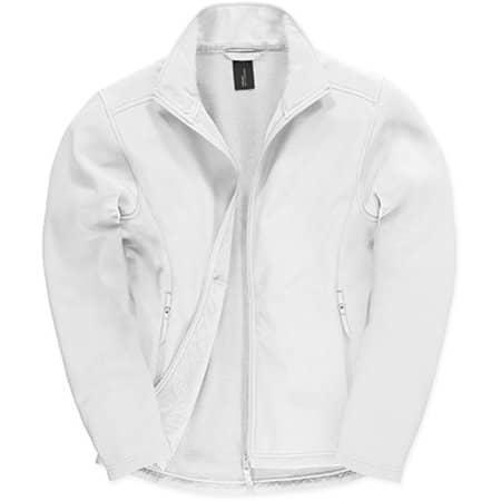 Jacket Softshell ID701 /Men in White|White von B&C (Artnum: BCJUI62