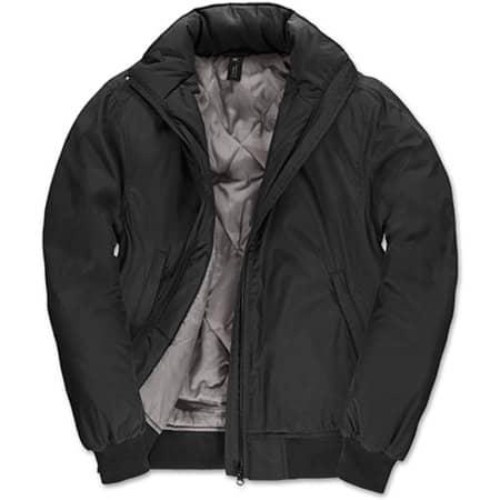 Jacket Crew Bomber /Women in Black|Warm Grey von B&C (Artnum: BCJW962