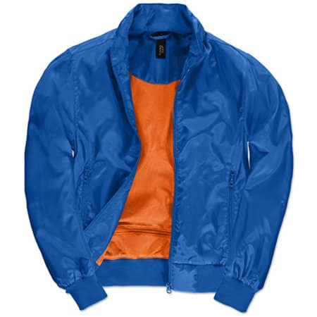 Jacket Trooper /Women in Royal Blue|Neon Orange von B&C (Artnum: BCJW964