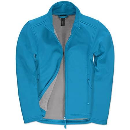 Jacket Softshell ID701 /Women in Atoll|Ghost Grey von B&C (Artnum: BCJWI63
