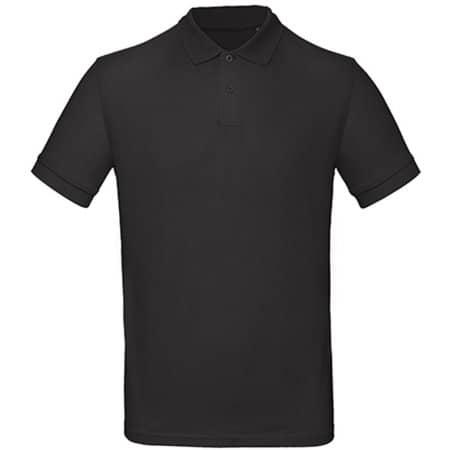 Inspire Polo / Men in Black von B&C (Artnum: BCPM430