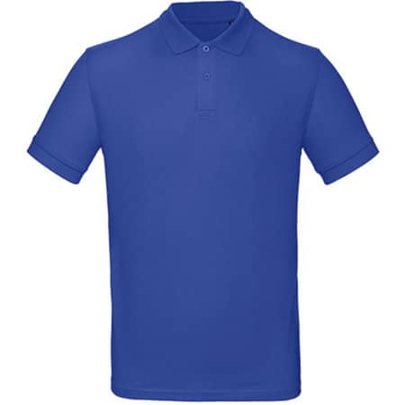 Inspire Polo / Men in Cobalt Blue von B&C (Artnum: BCPM430