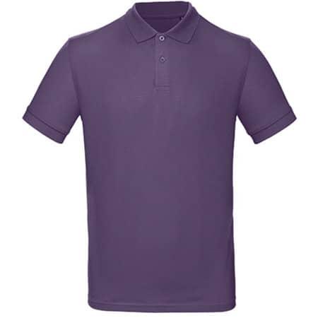 Inspire Polo / Men in Radiant Purple von B&C (Artnum: BCPM430