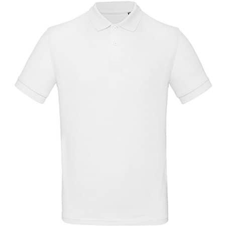 Inspire Polo / Men in White von B&C (Artnum: BCPM430