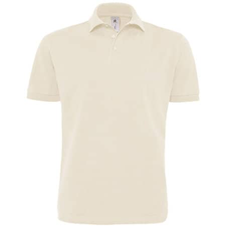 Polo Heavymill / Unisex in Natural von B&C (Artnum: BCPU422