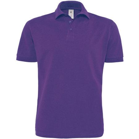 Polo Heavymill / Unisex in Purple von B&C (Artnum: BCPU422