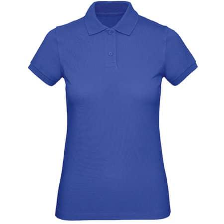 Inspire Polo / Women in Cobalt Blue von B&C (Artnum: BCPW440