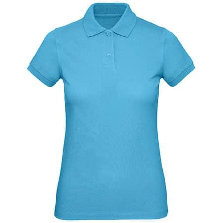 Inspire Polo / Women in Very Turquoise von B&C (Artnum: BCPW440