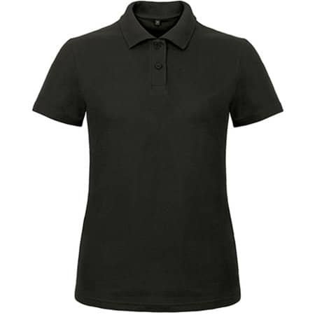 Polo ID001 / Women in Black von B&C (Artnum: BCPWI11
