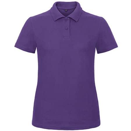 Polo ID001 / Women in Purple von B&C (Artnum: BCPWI11