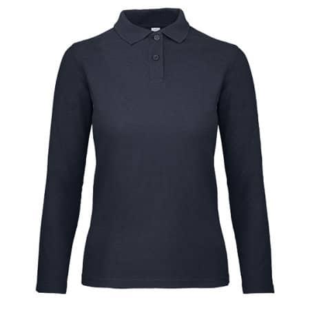 Long Sleeve Polo ID001 / Women von B&C (Artnum: BCPWI13