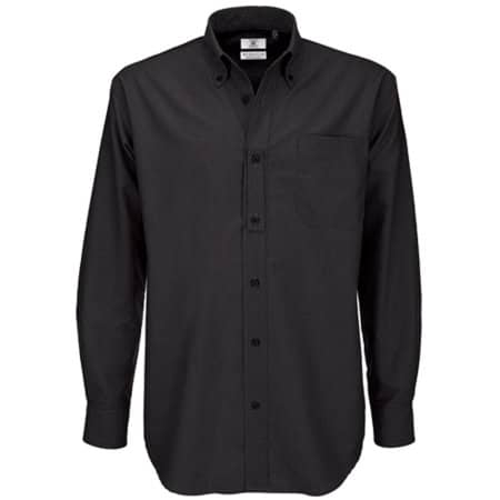 Shirt Oxford Long Sleeve /Men in Black von B&C (Artnum: BCSMO01