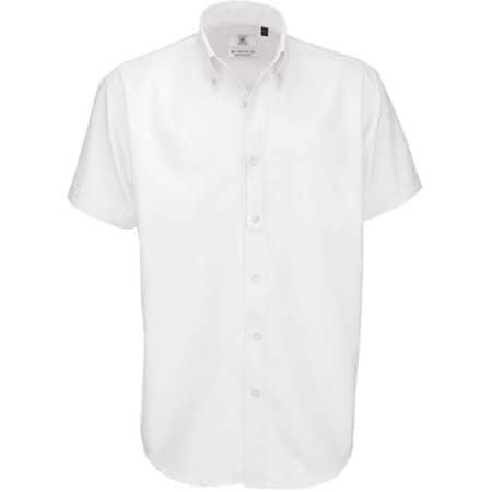 Shirt Oxford Short Sleeve /Men in White von B&C (Artnum: BCSMO02