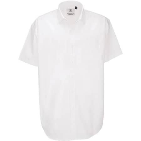 Poplin Shirt Heritage Short Sleeve / Men von B&C (Artnum: BCSMP42