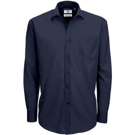 Poplin Shirt Smart Long Sleeve / Men von B&C (Artnum: BCSMP61