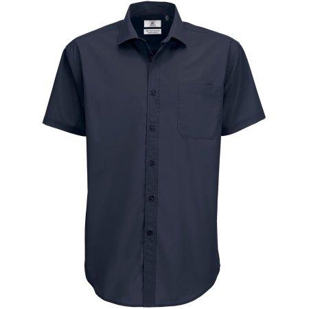 Poplin Shirt Smart Short Sleeve / Men von B&C (Artnum: BCSMP62