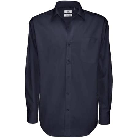 Twill Shirt Sharp Long Sleeve / Men von B&C (Artnum: BCSMT81