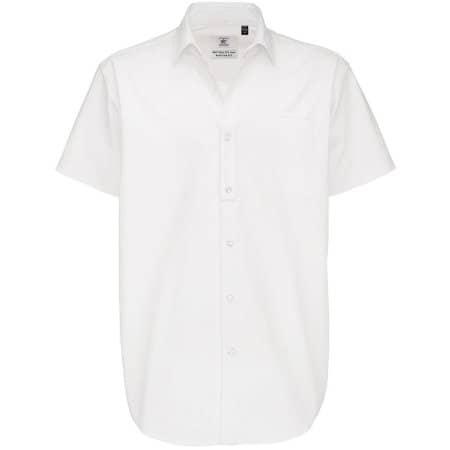 Twill Shirt Sharp Short Sleeve / Men von B&C (Artnum: BCSMT82
