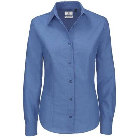 Oxford Shirt Long Sleeve / Women von B&C (Artnum: BCSWO03