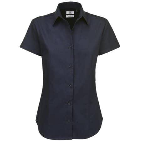 Twill Shirt Sharp Short Sleeve / Women von B&C (Artnum: BCSWT84