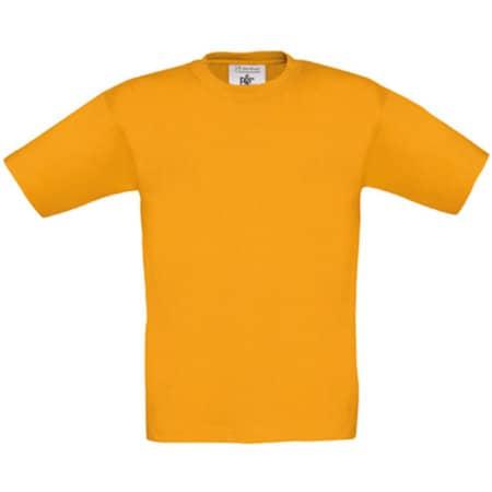 T-Shirt Exact 150 / Kids in Apricot von B&C (Artnum: BCTK300