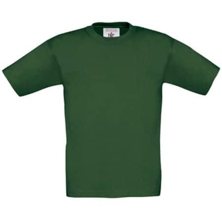 T-Shirt Exact 150 / Kids in Bottle Green von B&C (Artnum: BCTK300