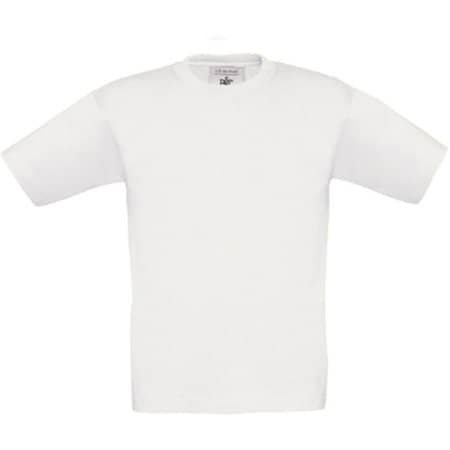 T-Shirt Exact 150 / Kids in White von B&C (Artnum: BCTK300