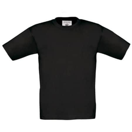 T-Shirt Exact 190 / Kids in Black von B&C (Artnum: BCTK301